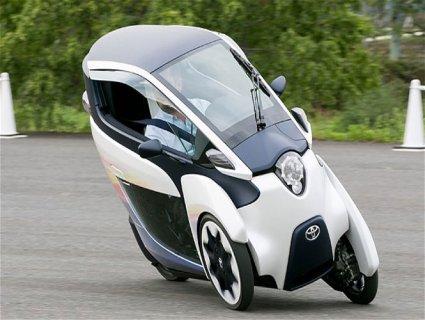 Toyota i-Road – електромобіль майбутнього