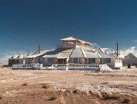 Готель з солі «Паласио-де-Саль» у пустелі Салар-де-Уюні