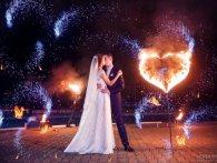 Вогняне шоу - фінальний акорд на весіллі