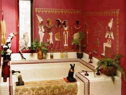 Розкішна єгипетська ванна
