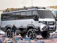 Перший автобус-всюдихід представили українці (відео)